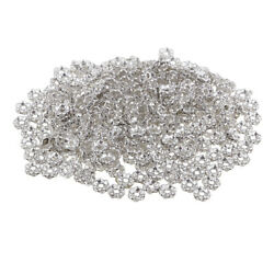 300 Pieces Crystal Wave Edge Beads Mini Beads Spacer Beads Charms $7.80
