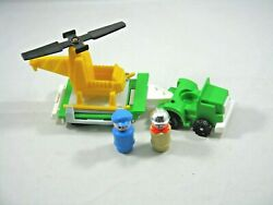 Fisher Price Vintage Little People Helicopter Rig Set #344 – Complete – Cleaned $25.95