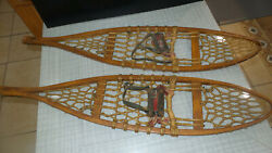 Antique Vintage Hand Made Snow Shoes $79.00