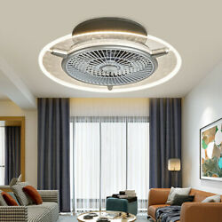 22quot; Ultra thin LED Ceiling Fan Light Lamp Chandelier Bedroom Simple and Modern $120.00