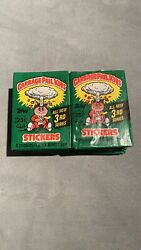 1 x 1986 Garbage Pail Kids 3rd Series Unopened NEW Pack Unopened OS3 Wax Pack $15.00