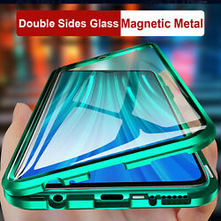 Magnetic 360 Full Cover Fr Samsung Galaxy Note20 Ultra 10 S21 S20 Metal Case $10.89