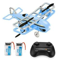 Mini Drone for Kids RC Nano Airplane Quadcopter for Beginners with Blue $39.98