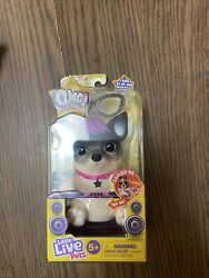 Little Live Pets OMG Pets Black and White Dog Batteries Included Age 5 $13.00