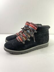 BOBS By Skechers Black Alpine Smores Boots 9.5 $39.00