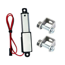 Micro Linear Actuator Mini Electric Waterproof with Mounting Brackets 30mm Speed $23.69