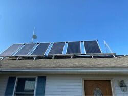 Large Solar Hot Water System COMPLETE