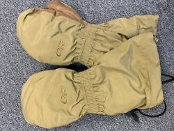 X Large Outdoor Research Extreme Cold Weather Mittens with Liner NEW