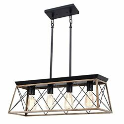 4 Light Modern Kitchen Island Pendant Fixtures for Dining Room Pool Table Indoor $172.09