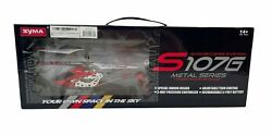SYMA S107G Gyroscopes System 3CH Mini Helicopter Remote Control Metal Series NEW $27.88