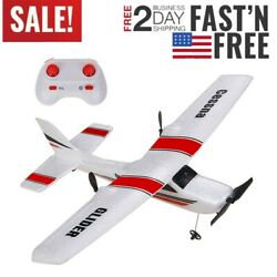 RC Plane RTF Glider Z53 2.4G Airplane With Gyro For Kids Beginner Ready To Fly $38.51