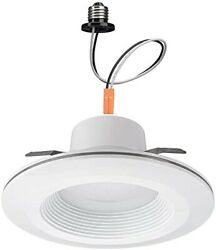 Commercial Electric Recessed Lighting Kit Flush Round 6 Inch White 6 Pack
