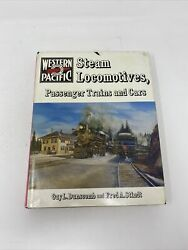 RAILROAD BOOK WESTERN PACIFIC STEAM LOCOMOTIVES PASSENGER TRAINS AND CARS $39.95