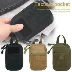 Tactical MOLLE EDC Pouch Military Small Waist Belt Pack Hunting Accessories $8.99