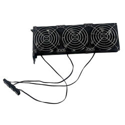 PCIe 3 Fan GPU Cooler Computer Chassis Case Graphics Card Cooling Fans 90mm $16.20