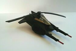Vintage DC Comic BATMAN HELICOPTER Trigger Action Fires and Rotating Blades $5.85