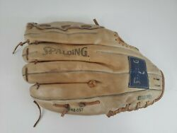Spalding Leather Baseball Glove Competition Series 12quot; Frank Viola 42 057 RHT $34.99