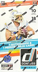 2021 Panini Donruss Football 1 PACK from Hobby Box Factory Sealed RC ROOKIES $35.00