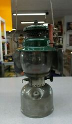 Vintage Coleman Lantern 242C With Pyrex Coleman Globe And Heat Shield $125.00