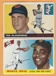 1955 Topps. YOUR CHOICE. $4.50