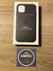 NEW APPLE IPHONE 11 SMART BATTERY CASE AUTHENTIC BLACK MWVH2LL A SEALED $69.95
