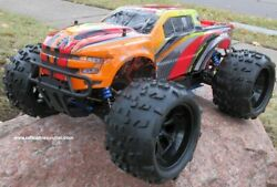 RC Brushless Electric Monster Truck Top 2 ET6 1 8 Scale 4WD 2.4G C $407.97