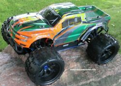 RC Brushless Electric Monster Truck Top 2 ET6 1 8 Scale 4WD 2.4G 97293 C $407.97