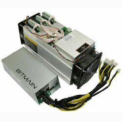 Antminer S9j 14.5TH Bitcoin Miner w PSU 1800w 220V UPGRADED FIRMWARE UP to 20TH $659.00