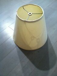 Vintage Lamp Shade Off White $8.00