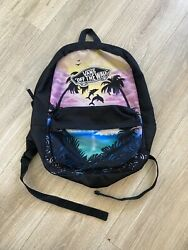 VANS OFF THE WALL GIRLS BACKPACK GUC MULTI COLOR TROPICAL $15.00