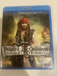 Pirates of the Caribbean: On Stranger Tides Blu ray 2011 $4.60