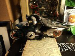 Antique Batman Toy Motorcycle powered by friction $19.99