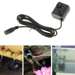 12V DC Small Brushless Motor Water Pump Water Pump with Suction Cups $11.17
