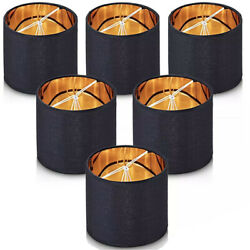 Wellmet Chandelier Small Lamp Shades Clip On Fit ONLY for Candle bulbs x 6 $25.00
