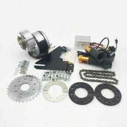 250W Electric Kit Bike Left Chain Drive Customized Geared Bicycle Derailleur $209.99