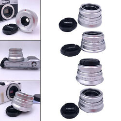 Prime Fixed Lens Large Aperture F 1.8 Wide Angle Lens for Micro Cameras $41.42