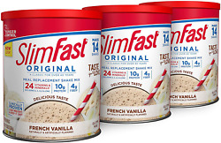 Vanilla Shake Mix Original French Meal Replacement Weight Loss Powder 14 Serving $23.47