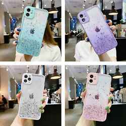 Clear Glitter Bling Shockproof Case For iPhone 13 Pro Max 12 11 XR XS 8 7 Cover $6.71