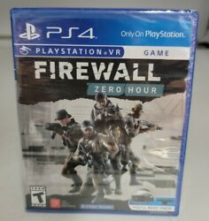 Firewall: Zero Hour VR for PlayStation 4 VR New Sealed NFR $11.49