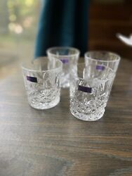 Waterford Crystal Old Fashioned Rocks Glassware 4 $25.00