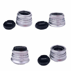 Prime Fixed Lens F 1.8 with Front Lens Cover for Micro Cameras $40.53