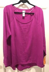 C9 by Champion Women's Long Sleeve Active Relaxed Fit Athletic Sweatshirt XXL $19.99