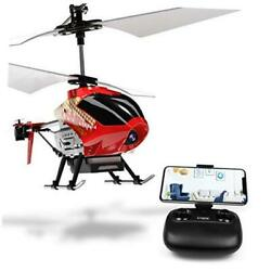 U12S Mini RC Helicopter with Camera Remote Control Helicopter for Kids and Red $68.05