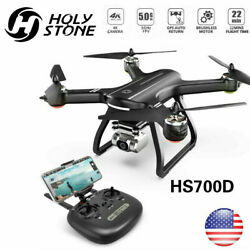 Holy Stone HS700D Drone With 4K HD Camera 5G FPV GPS RC Quadcopter Brushless US $197.10
