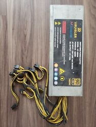 1800W Mining Power Supply For Antminer Bitmain S9 L3 PSU $122.00