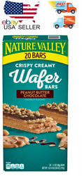 Nature Valley Peanut Butter Chocolate Wafer Bar 20 ct. NEW $14.89