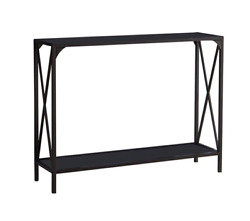 Allegheny Modern Entryway Sofa Storage Console Table Pewter Metal Durable Design $194.99