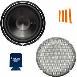 Rockford Fosgate 1 P3D2 12 Punch P3 12quot; Dual 2 Ohm Sub and 1 P2P3G 12 Stamped $296.98