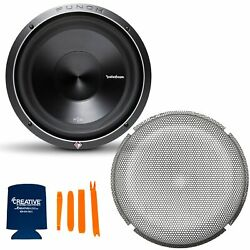 Rockford Fosgate 1 P3D4 12 Punch P3 12quot; Dual 4 Ohm Subwoofers and 1 P2P3G 12 $296.98
