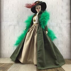 HANDMADE Vintage Reproduction Style Green 8 Pcs Dress FOR Barbie Silkstone Doll $59.99